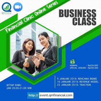 Business Class tiap Rabu