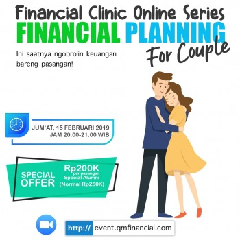 Financial Planning for Couple - 15 Februari 2019