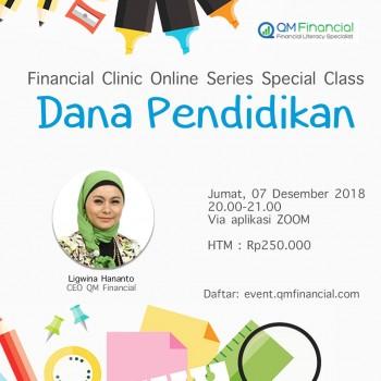 Special Class Dana Pendidikan with Ligwina Hananto