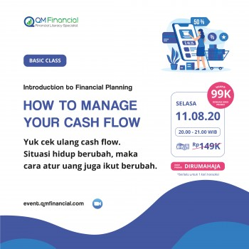 Basic Class: How to Manage Your Cash Flow - 11 Agustus 2020