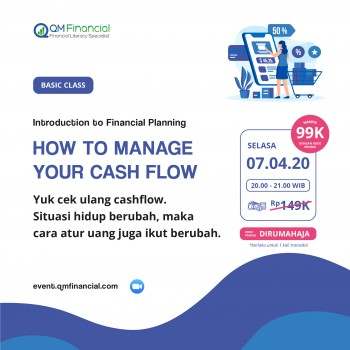 Basic Class: How to Manage Your Cash Flow - 7 April 2020