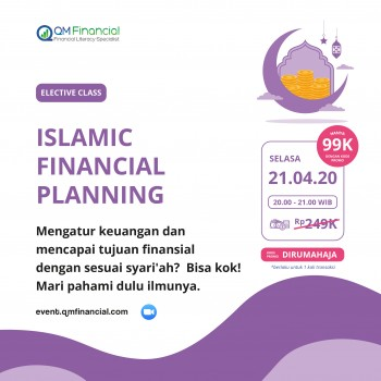 Elective Class: Islamic Financial Planning - 21 April 2020