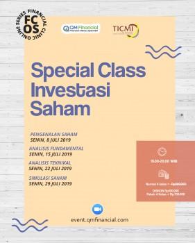 Special Class Saham with TICMI - Juli 2019