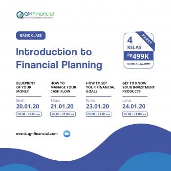 Blueprint of Your Money + 3 Basic Class Januari 2020