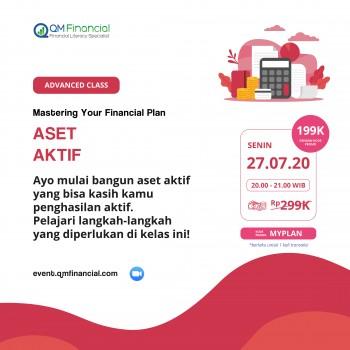 Advanced Class: Aset Aktif - 27 Juli 2020