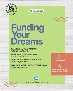 Elective Class: Funding Your Dreams - Juni 2019
