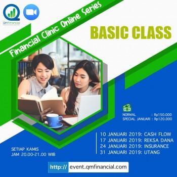 Basic Class tiap Kamis