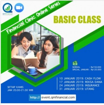 Basic Class Setiap Kamis - Jan2019