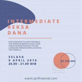 Intermediate Reksa Dana - 9 April 2019