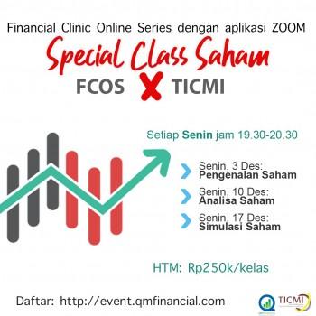 Special Class Saham with TICMI