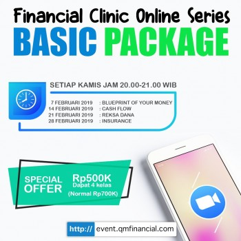 Blueprint of Your Money + 3 Basic Class - Feb 2019