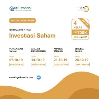Special Class Saham with TICMI - Oktober 2019