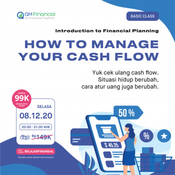 Basic Class: How to Manage Your Cash Flow - 8 Desember 2020