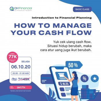 Basic Class: How to Manage Your Cash Flow - 6 Oktober 2020