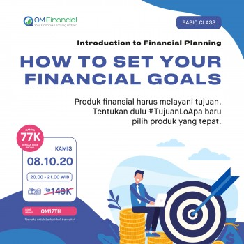 Basic Class: How to Set Your Financial Goals - 8 Oktober 2020