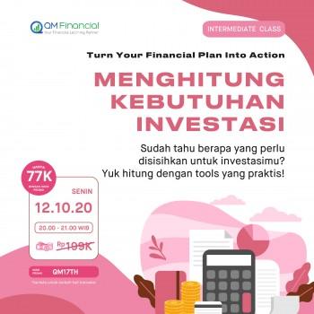 Intermediate Class: Menghitung Kebutuhan Investasi - 12 Oktober 2020