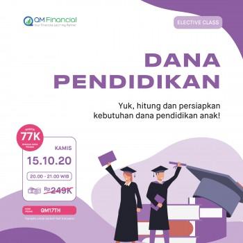 Elective Class: Dana Pendidikan - 15 Oktober 2020