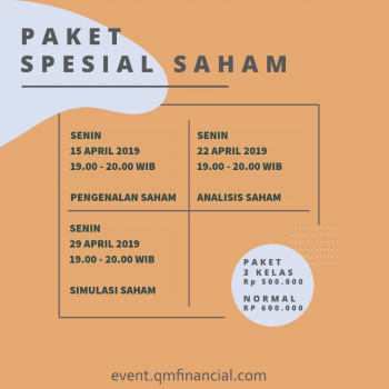 Special Class Saham with TICMI - April 2019