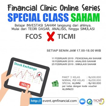 Special Class Saham with TICMI - Feb 2019