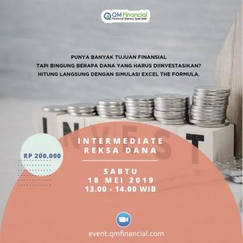 Intermediate Reksa Dana - 18 Mei 2019