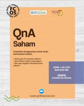 Free QnA Saham 1 Juli 2019