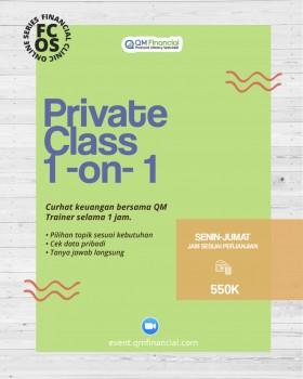 Private Class 1on1 - Juli 2019