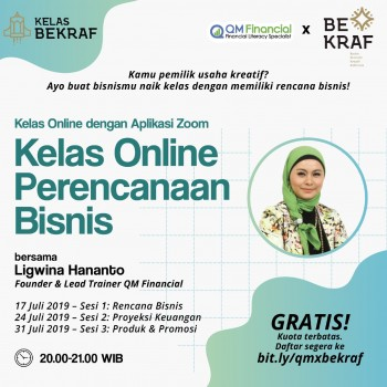 BUSINESS PLAN SERIES - QM x Bekraf