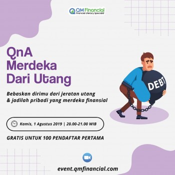 Free Q&A Merdeka dari Utang! - Agustus 2019
