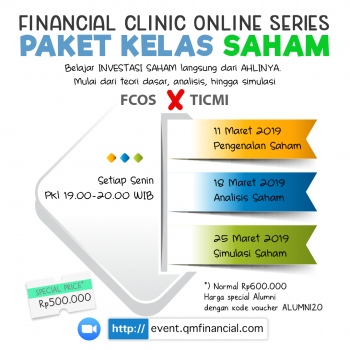 Special Class Saham with TICMI - Maret 2019